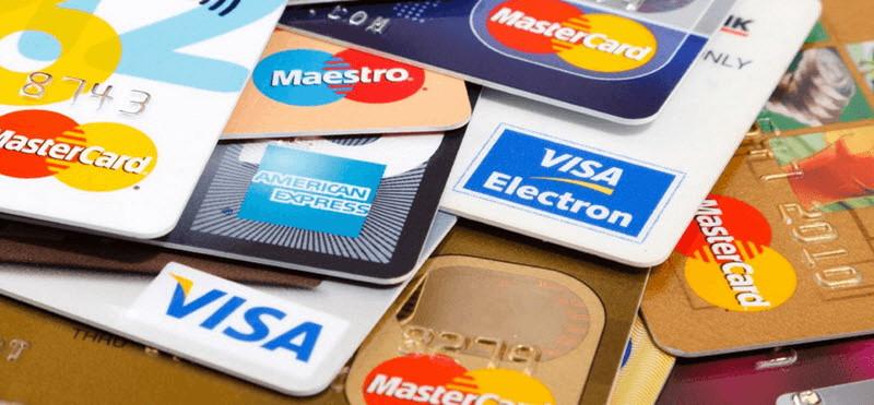 olika kreditkort